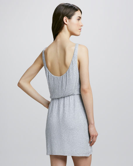 Shane Blouson Tank Dress