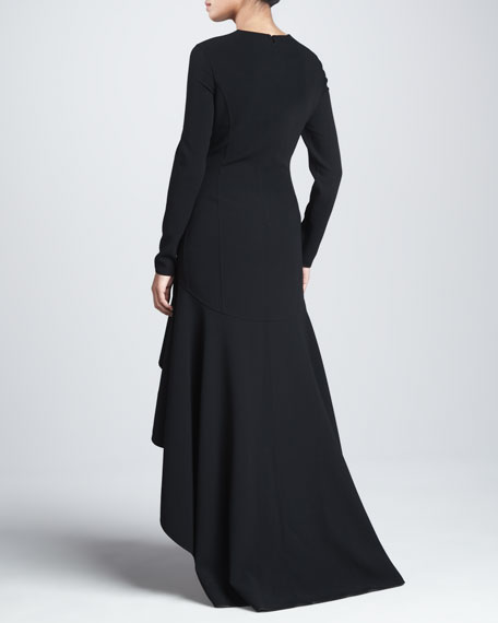 Side-Saddle Gown