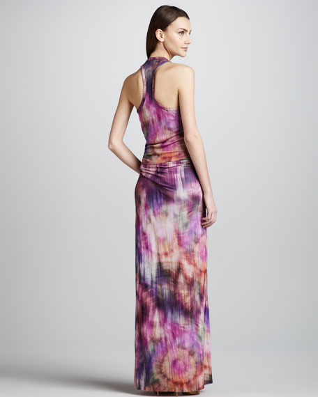 Hamptons Printed Maxi Dress