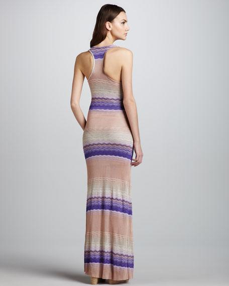 Blaire Striped Sleeveless Maxi Dress