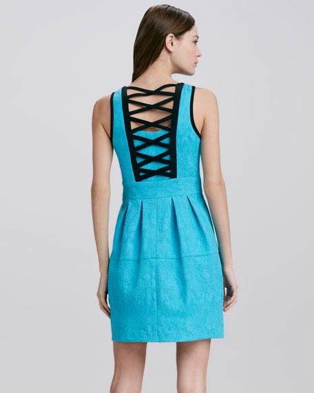 Madrid Back-Cutout Dress