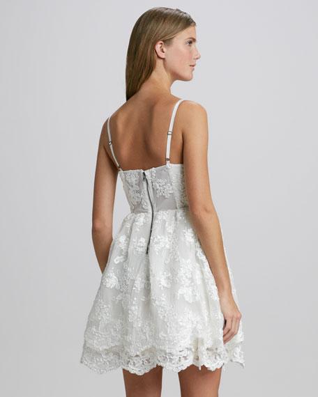 Rora Lace-Overlay Dress