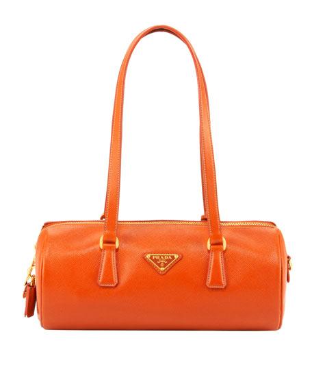 Saffiano Lux Shoulder Bag