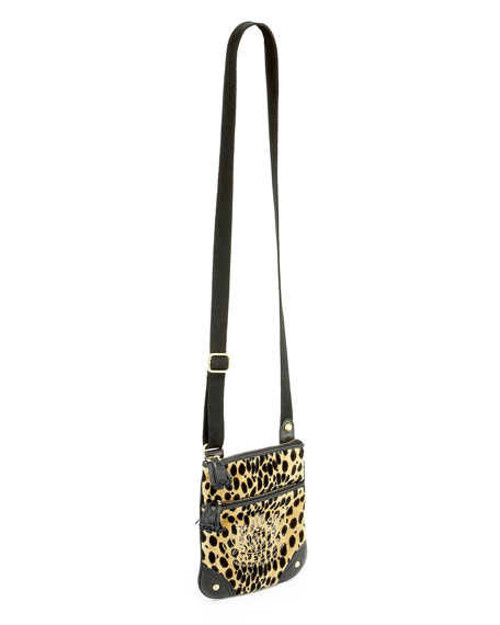 Cheetah-Print Crossbody Bag