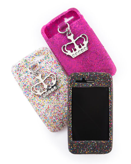 Glittered iPhone® Cases, Set of Three