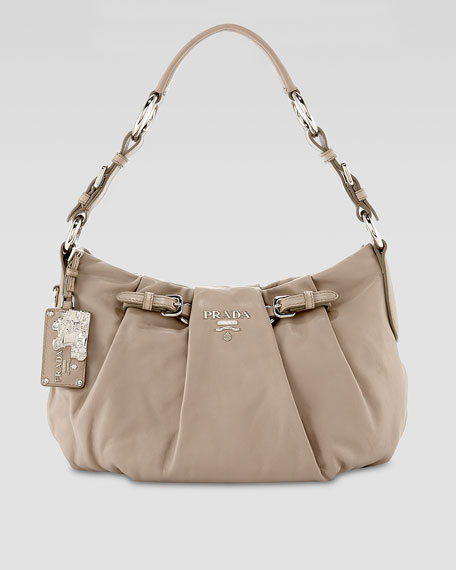 Soft Calf Buckle Hobo