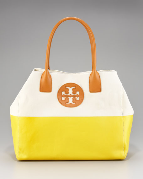 Color-Dipped Tote