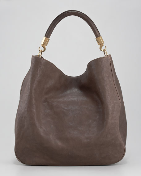 Ranch Leather Hobo, Large