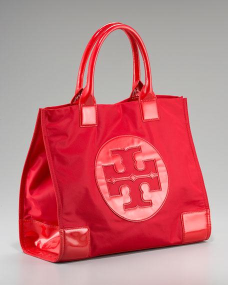 deb8b111e5b Tory Burch Ella Nylon Tote. Tory burch women s handbag red tory burch  handbags ...