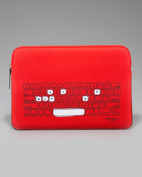 """printed neoprene laptop sleeve, 13"""""""