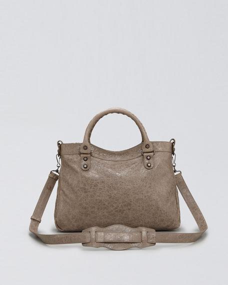 Classic Town Bag, Gris Poivre