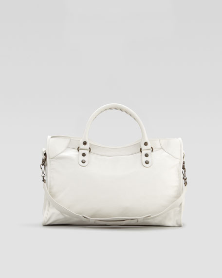 Classic City Bag, Bianco Light