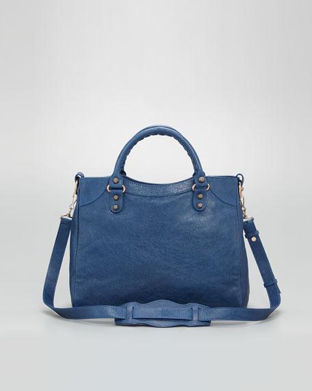 Giant 12 Rose Golden Velo Bag, Blue Cobalt