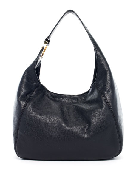 Fulton Large Shoulder Bag, Black