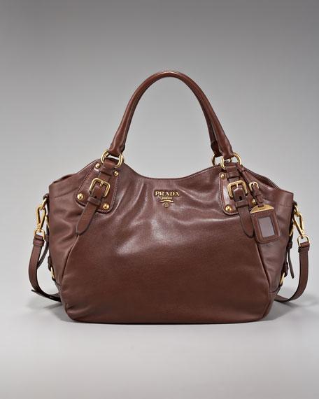 Snap-Top Shoulder Bag