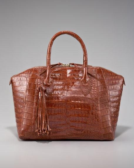 Tassel Dome Bag, Medium