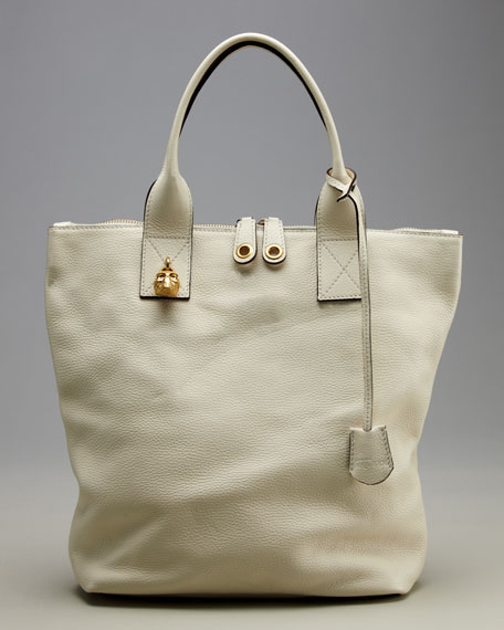 North-South Padlock Tote