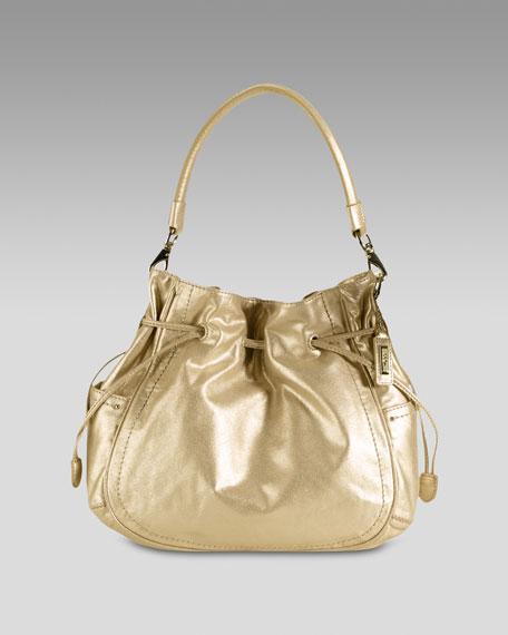 Denney Drawstring Shoulder Bag