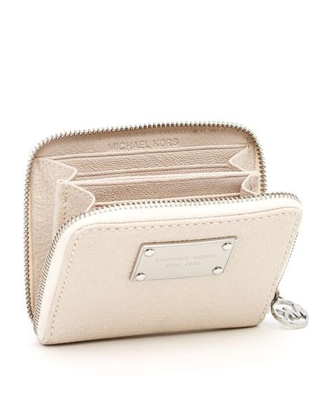 Jet Set Continental Bi-Fold Wallet, Vanilla