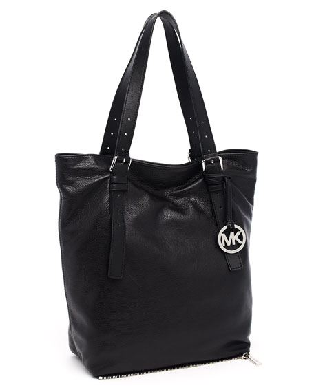 Extra Large Expandable Jessica Tote, Black