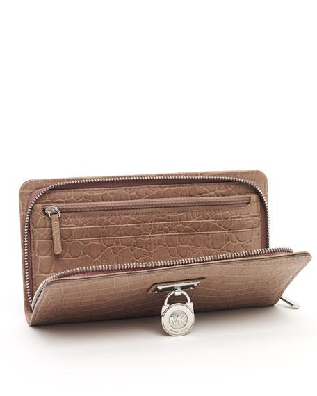 Hamilton Large Zip Around Continental Wallet, Dusk