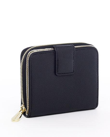 Jet-Set Bi-fold Wallet, Black or Vanilla