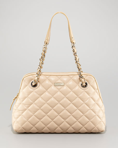 georgina quilted leather bag