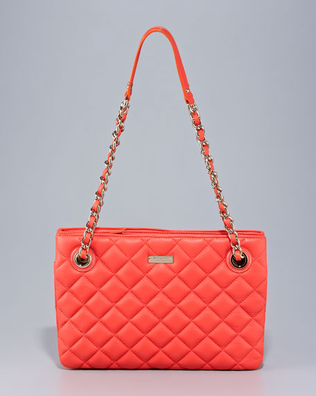 leighton quilted leather bag
