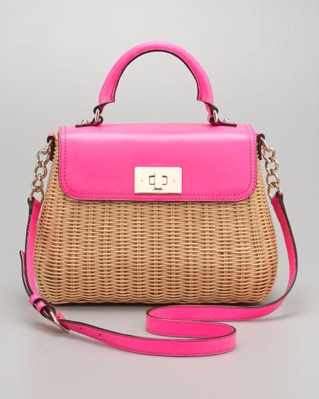 nadine wicker satchel, little