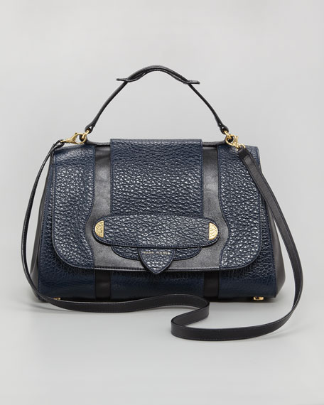 Thompson Two-Tone Satchel