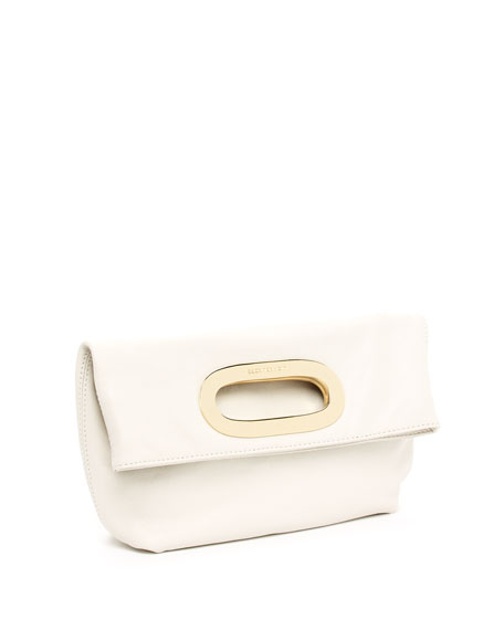 Berkley Medium Messenger, Vanilla Leather