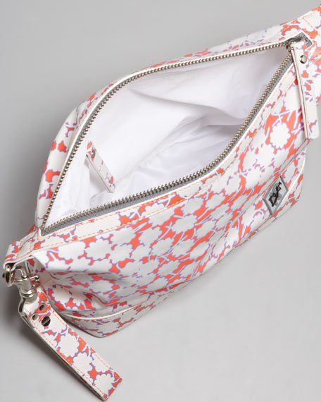 Tiny Travel Vanity Bag, Floral Bud