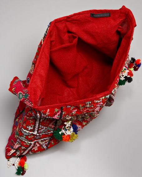 Lohri Gypsy Hobo Bag, Green