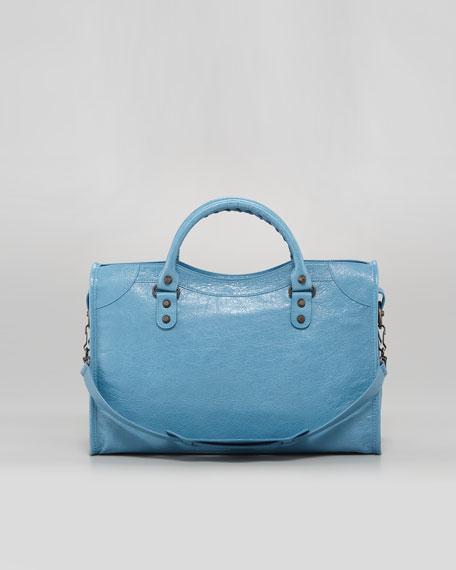 Classic City Bag, Blue Indigo