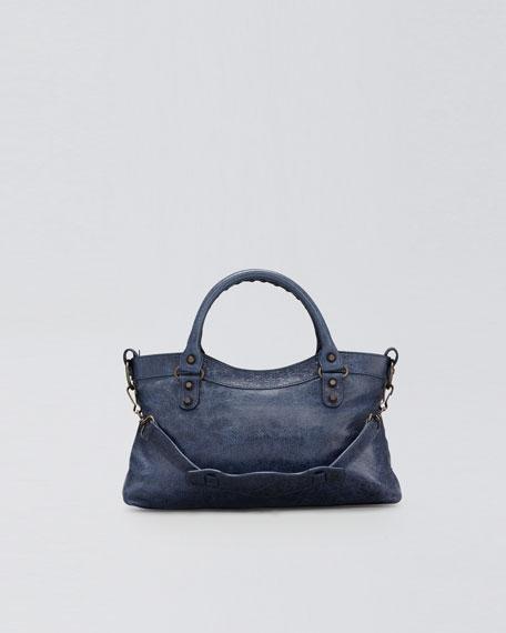Classic First Tote Bag, Bleu Roi