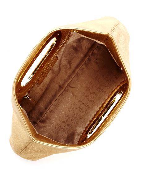 Berkley Clutch Bag, Pale Gold