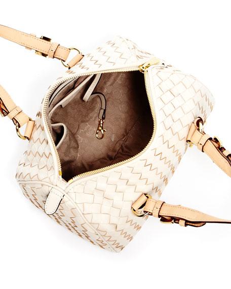 Grayson Woven Medium Satchel Bag