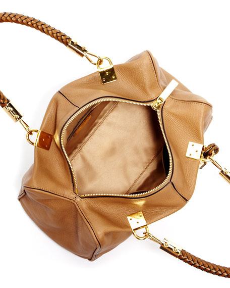 Skorpios Zip-Top Satchel Bag, Desert