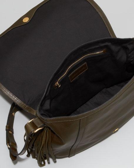 Twin-Tasseled Shoulder Bag