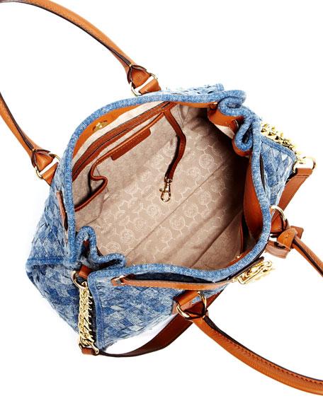 Hamilton Large Woven Tote Bag