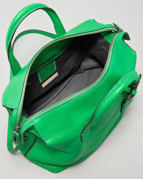 Gym Leather Bag, Zephyr Green