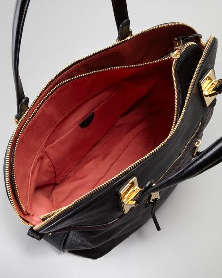 Angie Lambskin Shoulder Bag