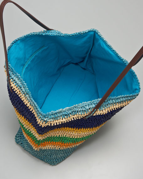 Calypso Striped Tote Bag