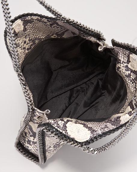 Baby Bella Faux-Python Shoulder Bag
