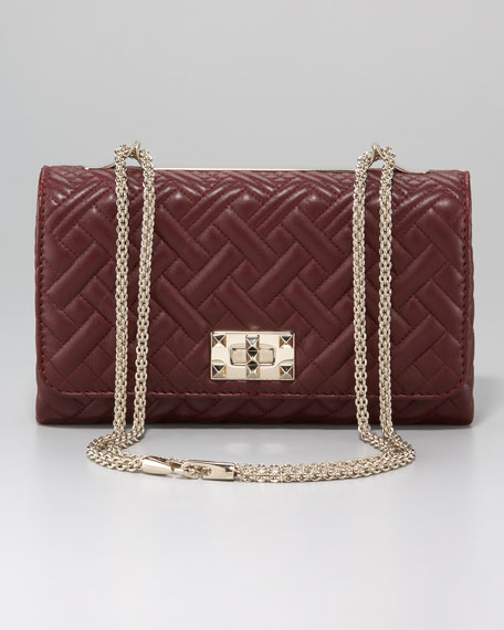 Flap-Top Quilted Bag