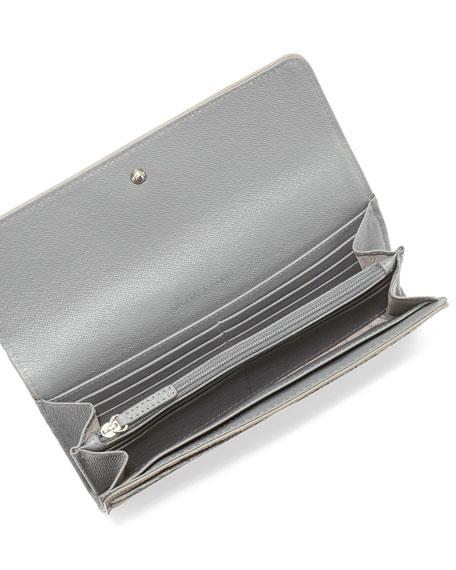 Large Hamilton Saffiano Flap Wallet