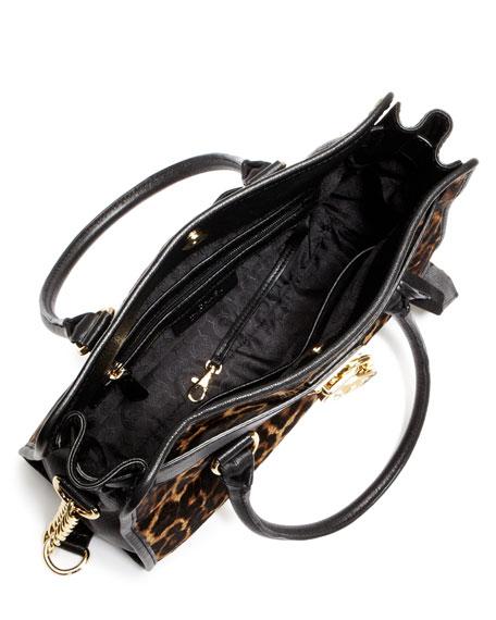 Hamilton Calf-Hair Satchel Bag