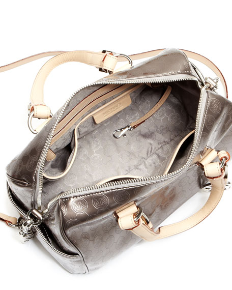 Grayson Medium Monogram Satchel Bag