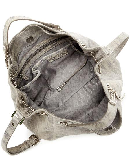 Jet Set Chain Shoulder Tote Bag