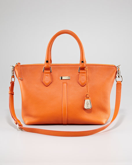 Village Zip Satchel Bag